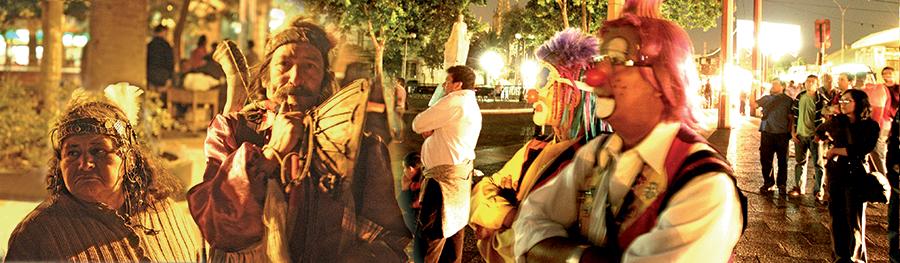 2005 CHILE EXPOSICION HUELLAS DEL PASADO, HUELLA PRESENTE